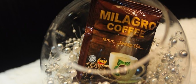 PRODUCT REVIEW : KHASIAT MILAGRO COFFEE - MMM..SEDAP.EKK...