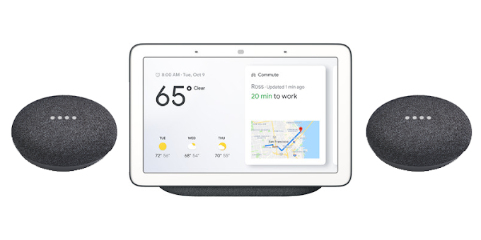 Buy a Google Home Hub and get two free Home mini smart speakers