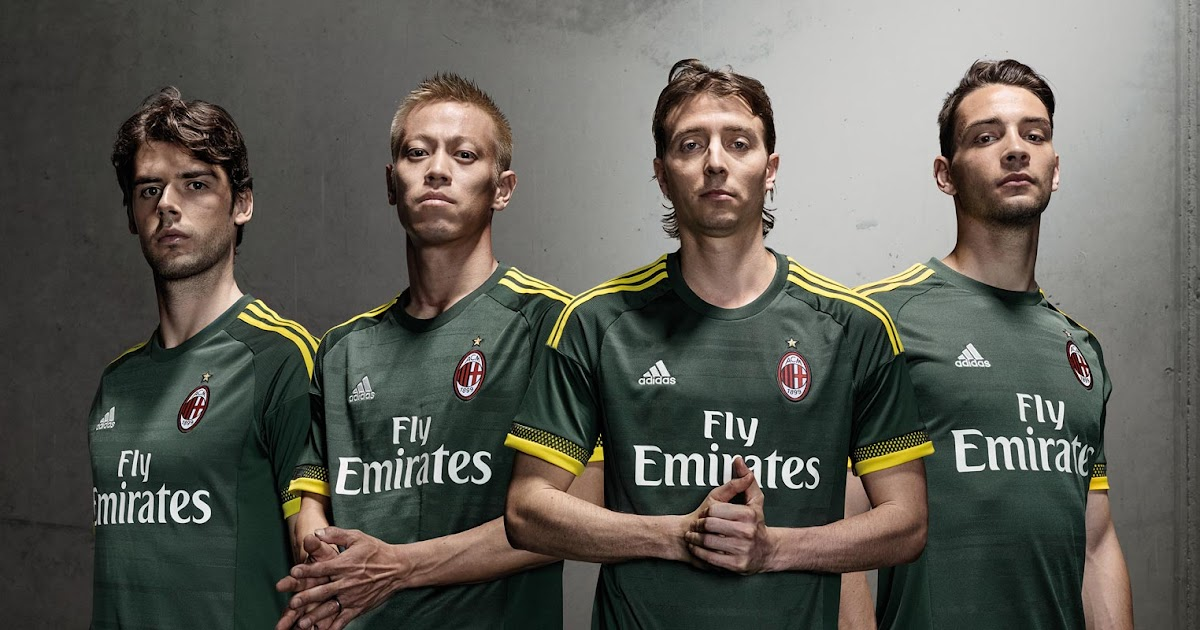 9498b0e9f AC Milan 15-16 Kits Revealed - Footy Headlines