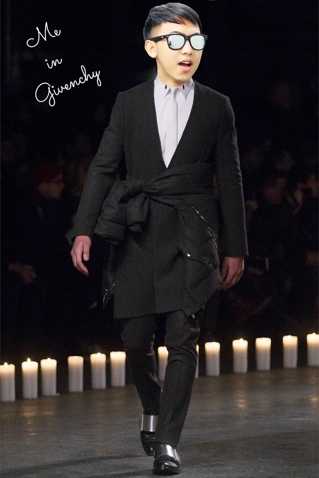 ME IN GIVENCHY FW 2013