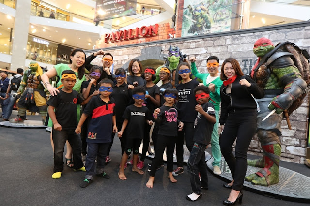 Ninja Action Zones, Teenage Mutant Ninja Turtles 2, Out of The Shadows, Pavilion KL