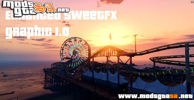 Mod Graphic Enhanced SweetFX para GTA V PC