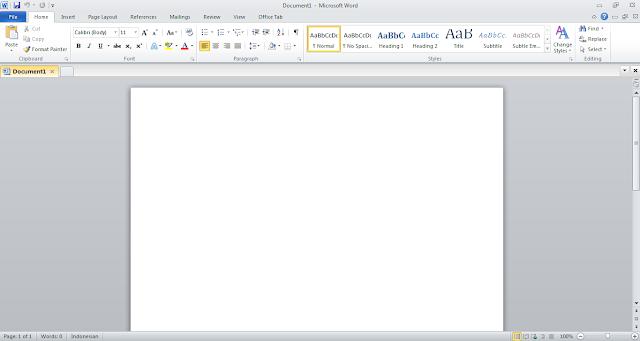 Download Microsoft Office 2010 SP2 Pro Plus Terbaru Full Version