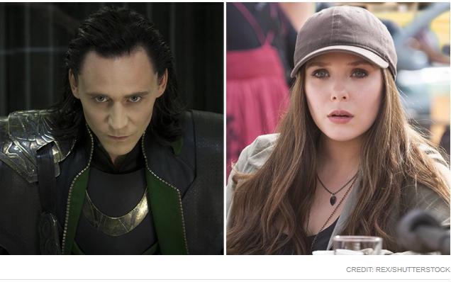 Superheroes Loki, Scarlet Witch