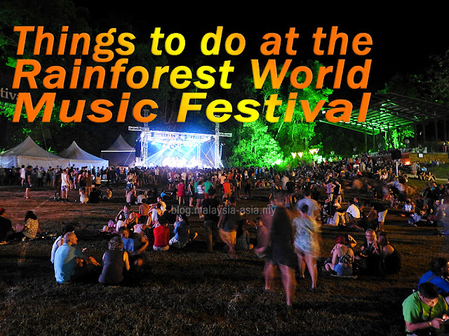 Things to do at the Rainforest World Music Festival
