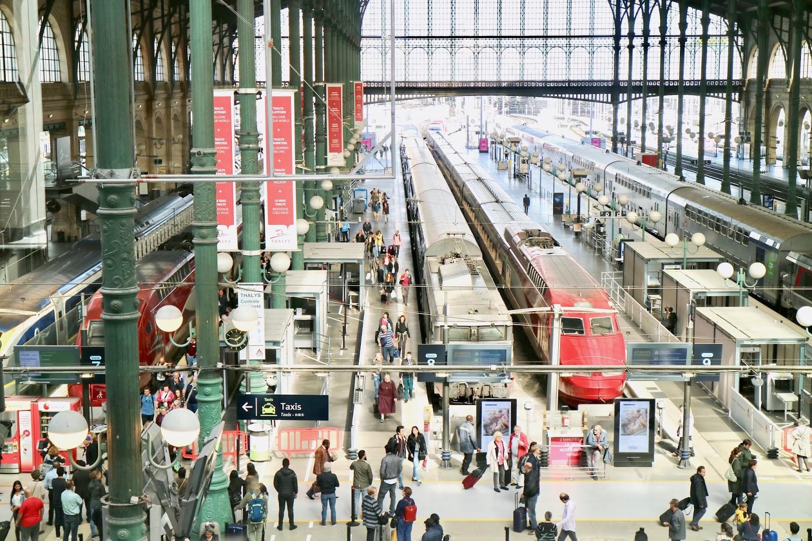 Train to Bordeaux from Paris