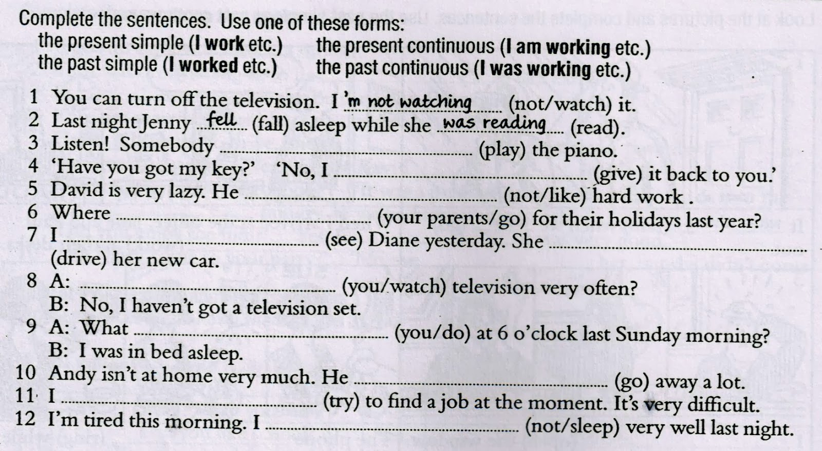 hight resolution of Simple future tense worksheets with answers