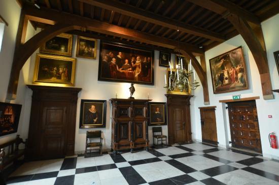 Atrações no Castelo Muiderslot em Amsterdã