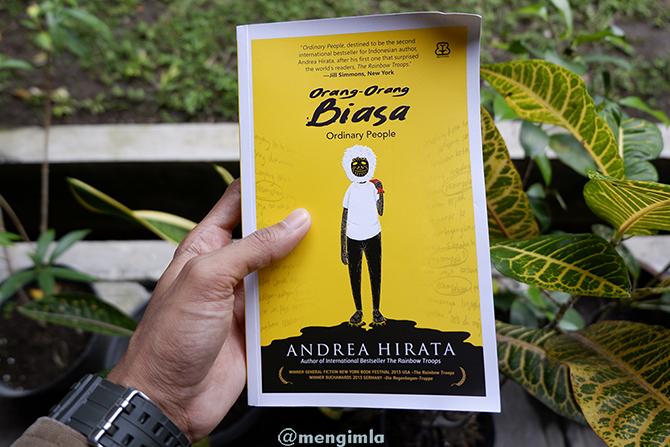 Koleksi Pribadi Novel Orang-orang Biasa karya Andrea Hirata