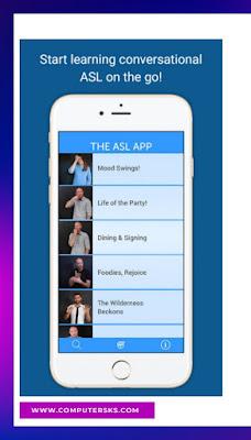 Les meilleures applications pour apprendre l'ASL