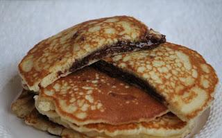 NUTELLA PANCAKE / CHOCOLATE PANCAKE