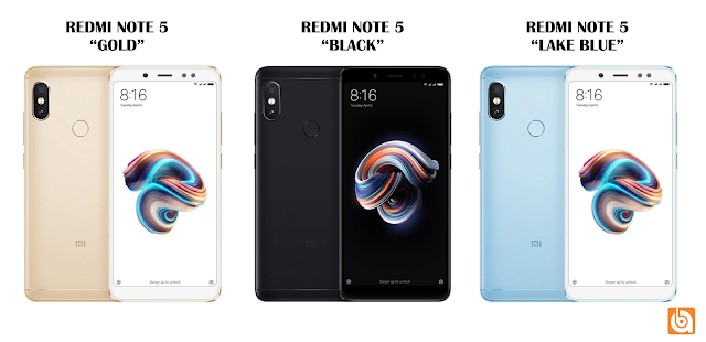 redmi note 5, warna redmi note 5, xiaomi