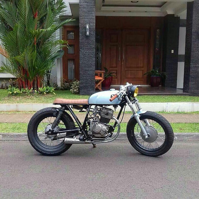 Inspirasi Modifikasi Motor Custom Bratcafe 1