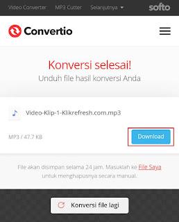 Cara Mengubah Video ke MP3 di Android Tanpa Aplikasi 6