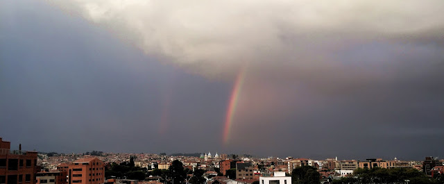 Rainbow hits new cathedral