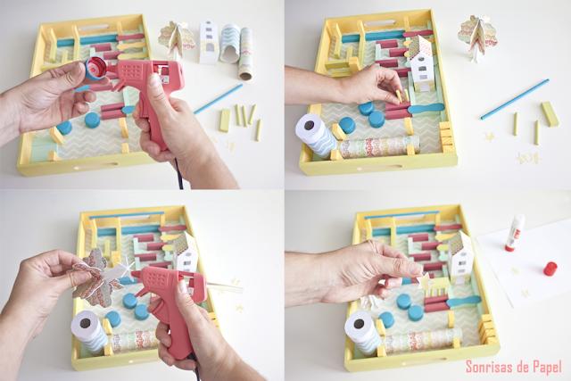 DIY LABERINTO PARA CANICAS juguete creativo