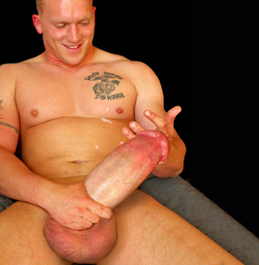 Gigantic Huge Meat Super Butch, Ex-Marine Gay Porn Stud -2523