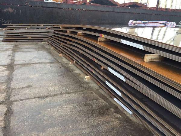 Lô thép tấm Hyundai Steel đăng kiểm NK-KA cập cảng Hải Phòng