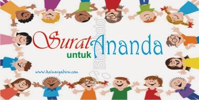 Giveaway Surat Untuk Ananda