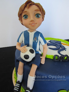 fc porto player birthday cake