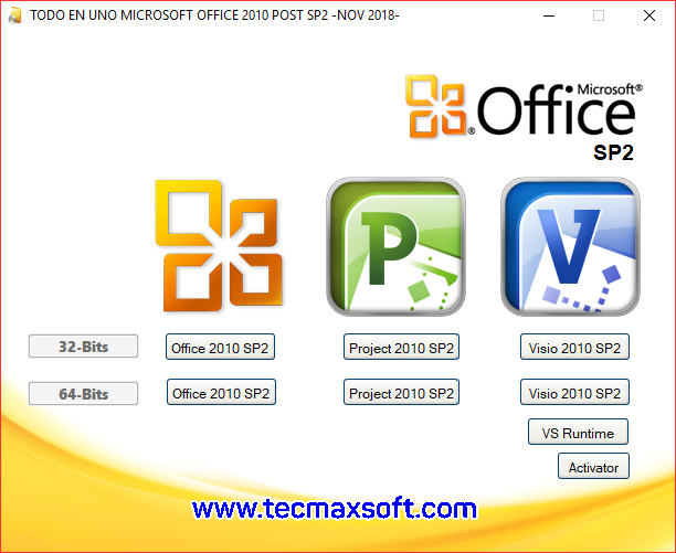 descargar office 2010 mas activador mega