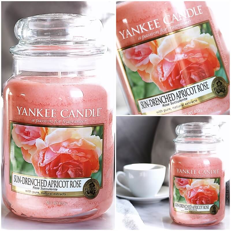 świeca yankee candle sun-drenched apricot rose