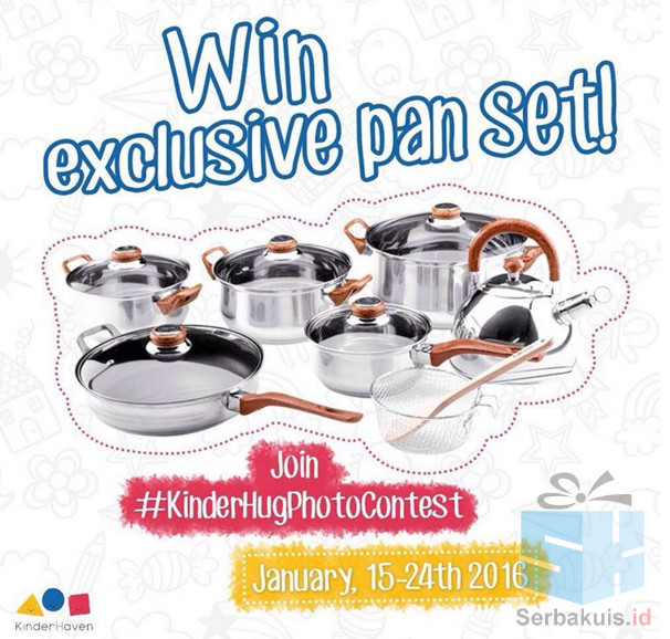 Kinder Hug Photo Contest Berhadiah Set OXONE Cookware