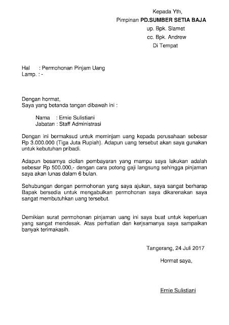Contor Surat Pengantar Pengambilan Barang