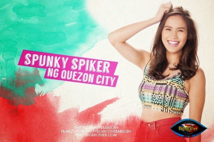 2014 PBB Housemate Michelle Gumabao