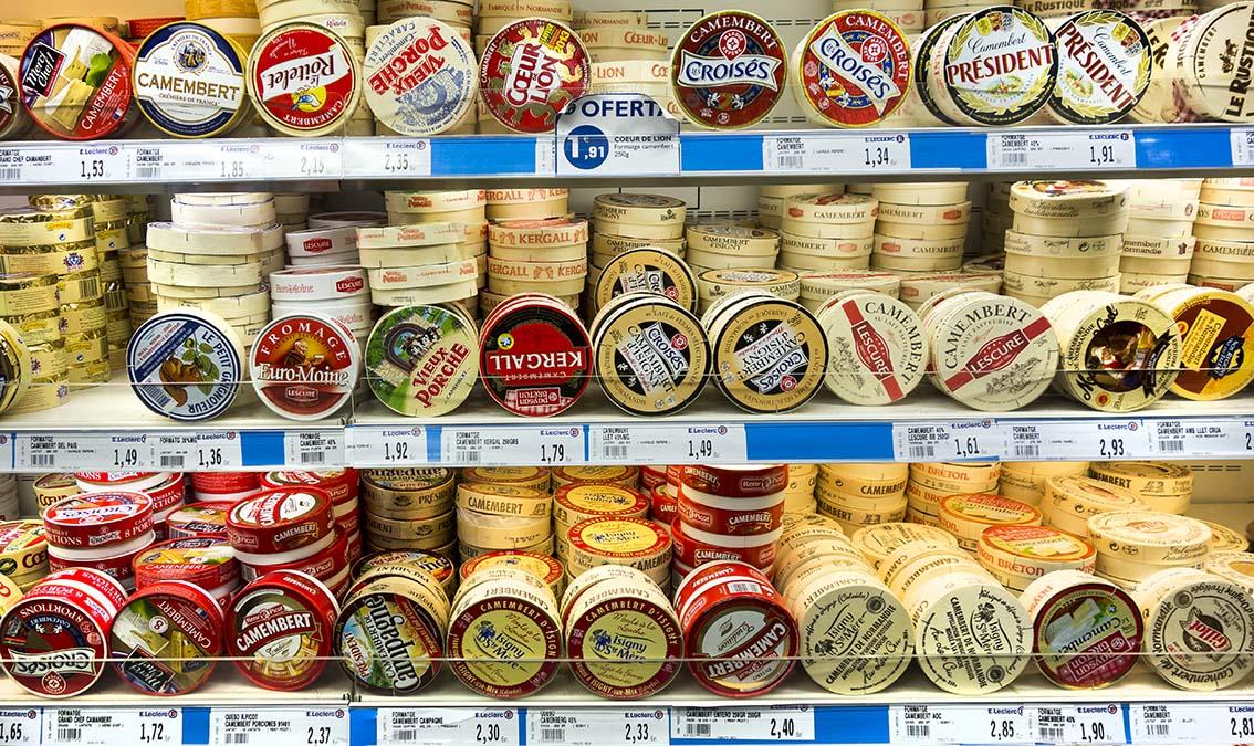 Salmorrejo quesos blandos franceses variedad y for Guisos franceses