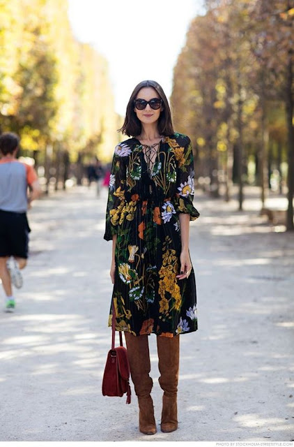 velvet dress for fall