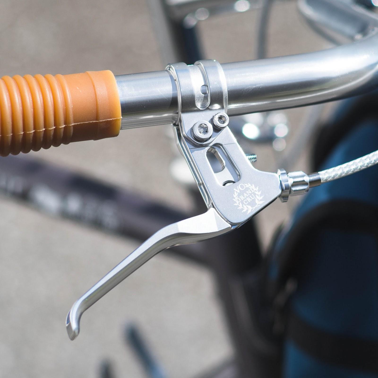 Vintage Dia Compe road bike BRAKE LEVER non aero    NOS