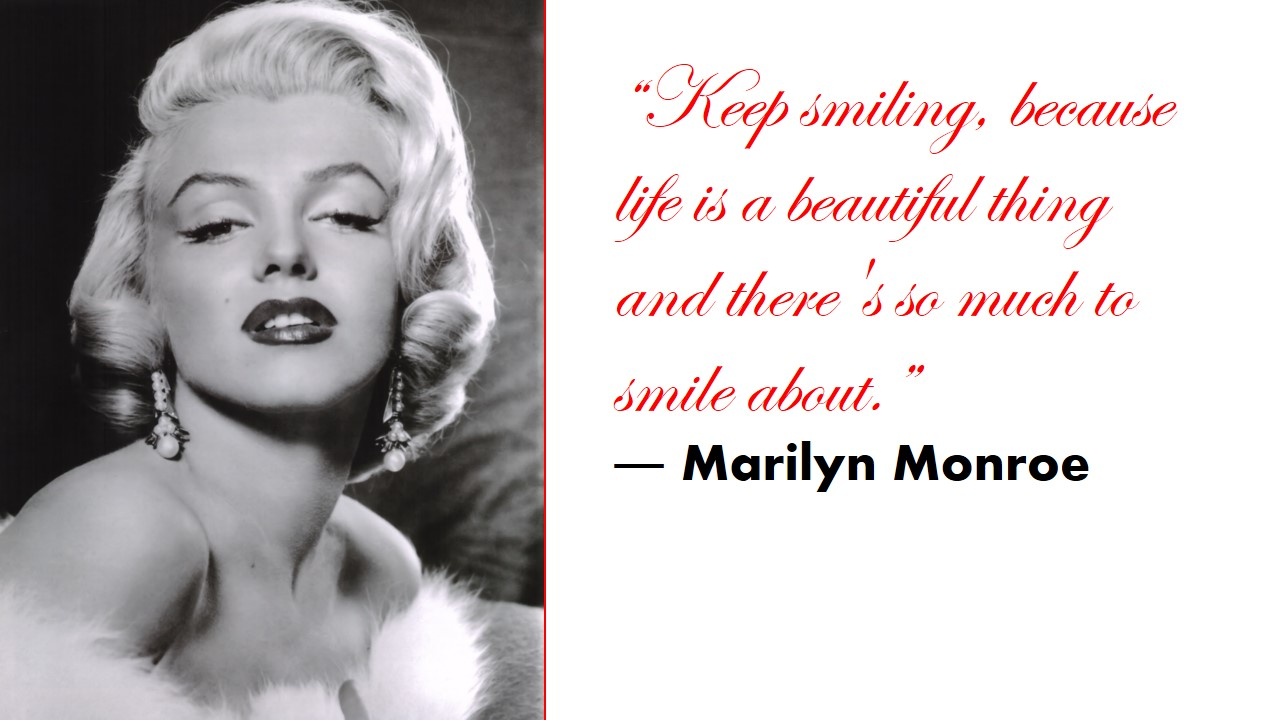 Marilyn Monroe Quotes On Nails. QuotesGram