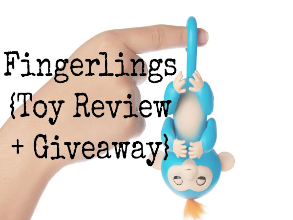 Fingerlings Baby Monkey {Toy Review}