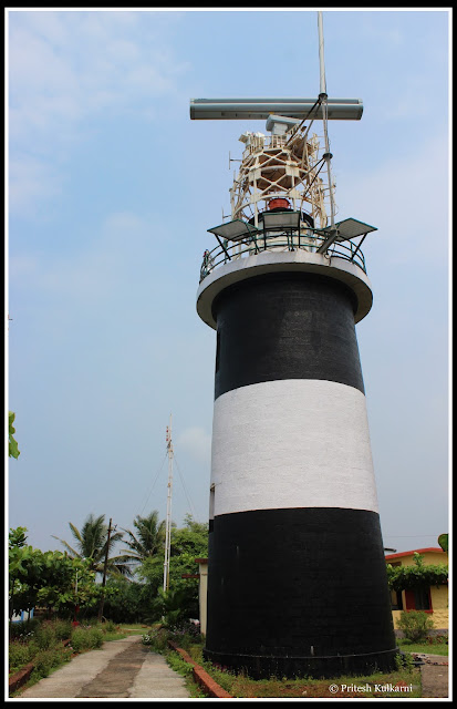Light house at Devgad fort