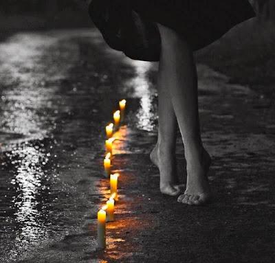 Η σιωπή της νύχτας στην φωτιά Σοφία Ντρέκου
