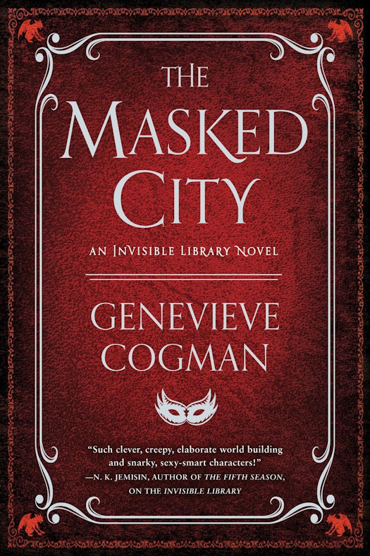 The Invisible Library Series by Genevieve Cogman - GIVEAWAY!!!