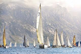 sailing in boka bay montenegro