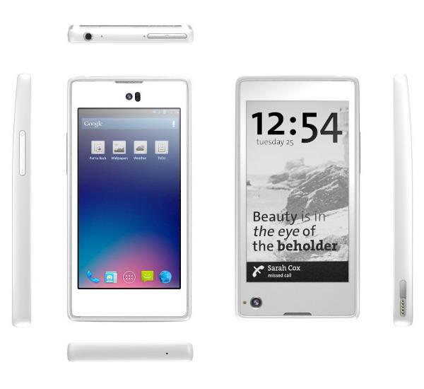 Yotaphone - eInk i LCD w jednym urządzeniu