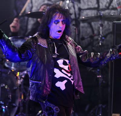 Alice Cooper Opened Iron Maiden Tour