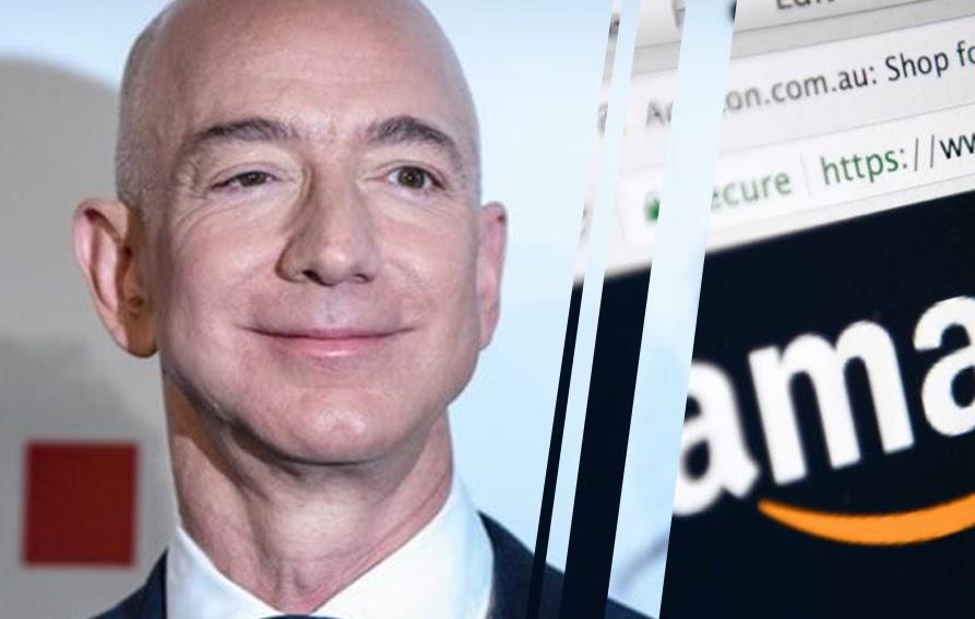 Jeff Bezos es presidente ejecutivo de Amazon