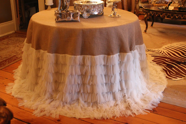 Romancing The Home Wedding Preparation Cake Table And