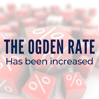 The Ogden discount rate has been increased