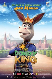 The Donkey King – The Donkey Raja 2018 Hindi Cam 400MB HDRip 480p x264 ESubs