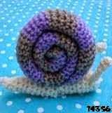 patron gratis caracol amigurumi, free amigumi pattern snail amigurumi