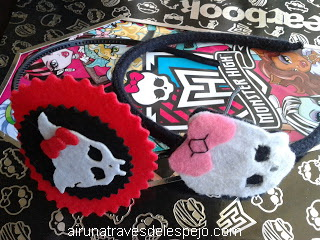 diadema monster high cabello