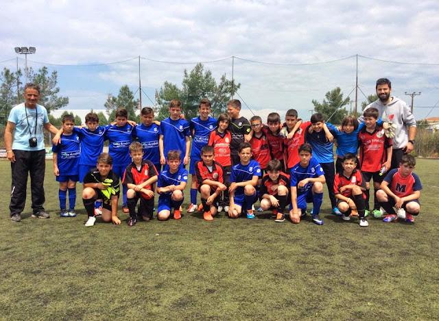 η ομάδα ακαδημιών ποδοσφαίρου το προ-παιδικό τμήμα