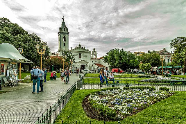 Imagen de la Recoleta,Buenos Aires,Argentina