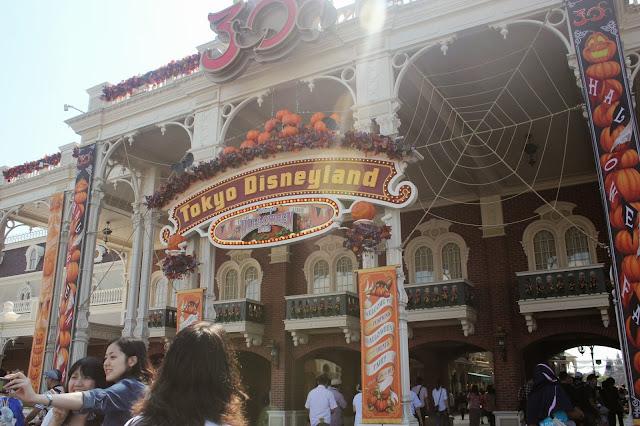 Tokyo Disneyland Halloween Entrance