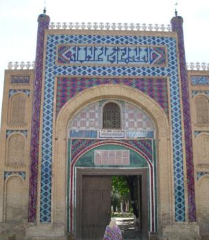 bukhara summer palace, uzbekistan art tours